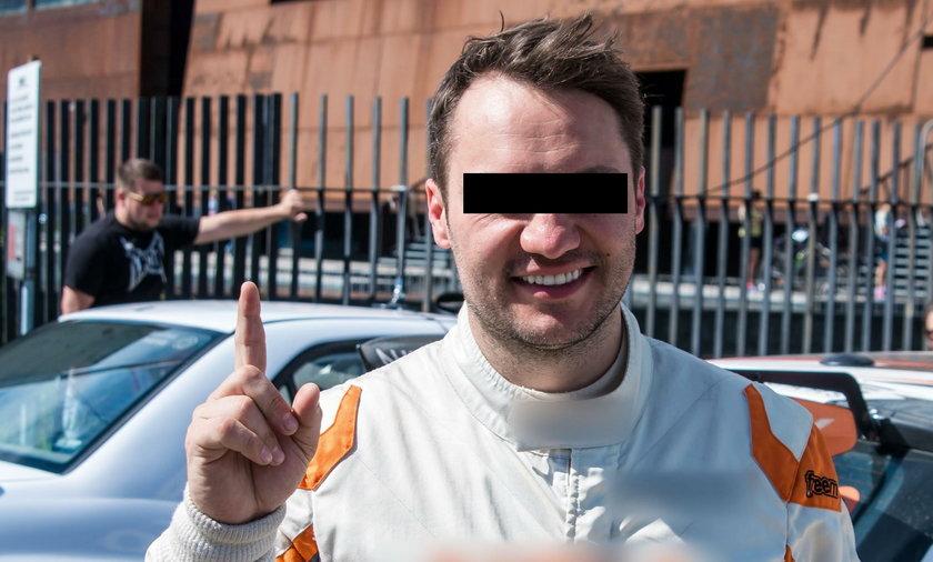 Filip N. zatrzymany. To były mistrz Polski w rajdach samochodowych
