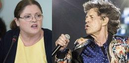 Mick Jagger zaskoczył na koncercie, Pawłowicz napada