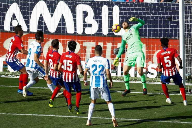 FK Leganes, FK Atletiko Madrid