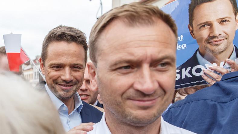Rafał Trzaskowski i Sławomir Nitras