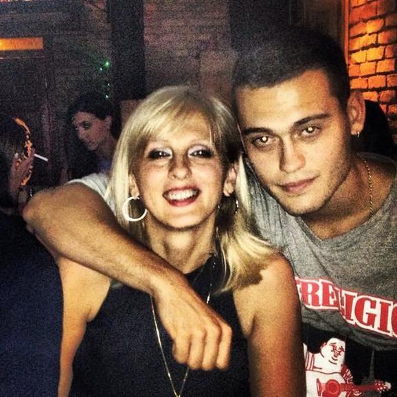 Stefan sa majkom Aidom