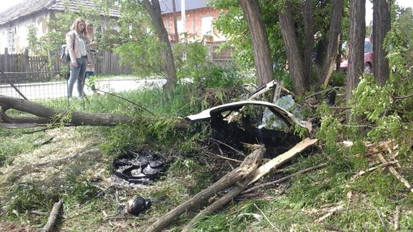 Saobraćajna nesreća, tinejdžer, Grocka, Umčari