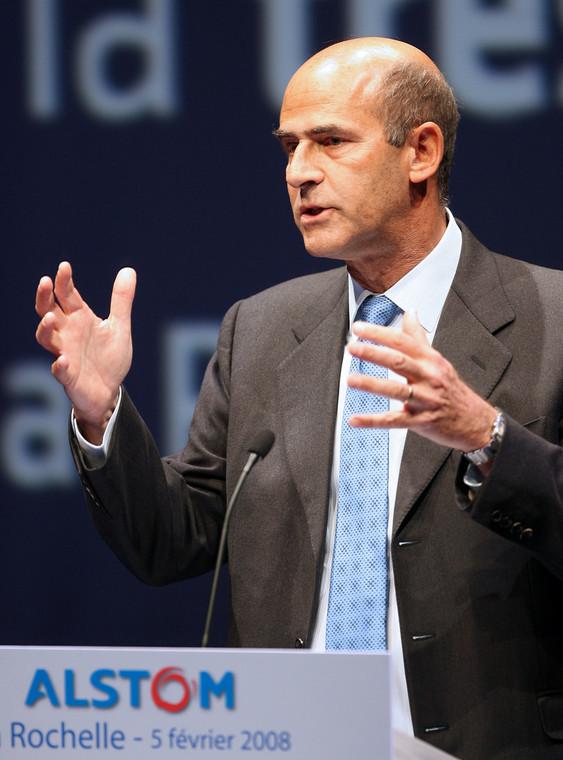 Patrick Kron, dyrektor zarządzający Alstom.