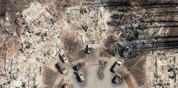 Zatrważający obraz zniszczeń. Nagranie z drona wprawia w osłupienie