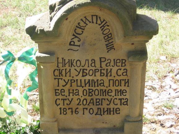Na mestu pogibije u Gornjem Androvcu