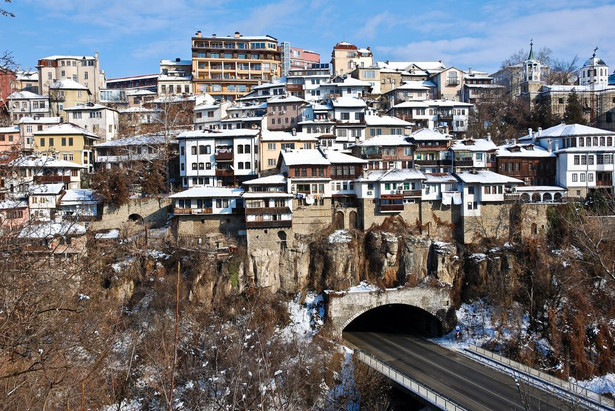 Bułgaria Północno-Środkowa, miasteczko Veliko Tarnovo.