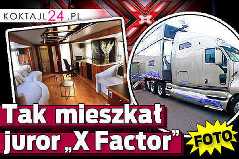 "Tak mieszkał juror ""X Factor"" FOTO"