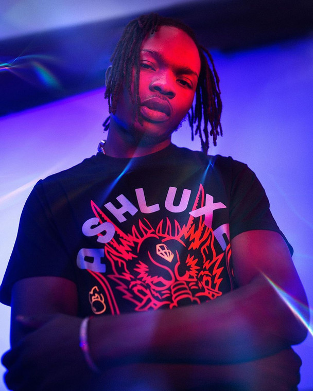 In the wee hours of December 30, 2019, Nigerian rapper, Naira Marley commenced his performance at the maiden edition of his headlining show, 'Marlian Fest.. [Instagram/NairaMarley]