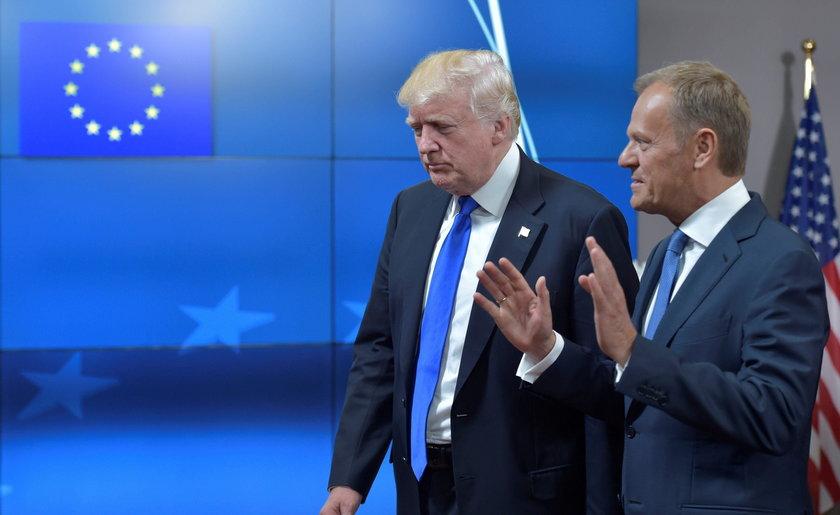 Tusk rozmawiał z Trumpem. Poróżniła ich ważna dla Polski kwestia