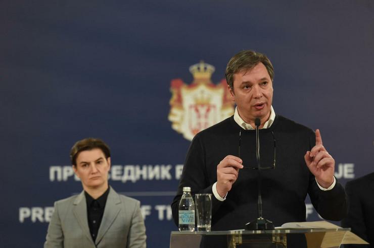 Aleksandar Vucic, Sednica za nacionalnu bezbednost