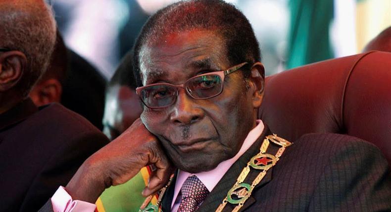 Zimbabwean former president, Robert Mugabe