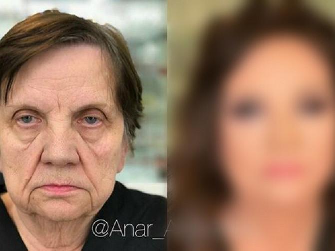 Ovu ženu su našminkali. Njen izgled bio je dovoljan da postane vest dana