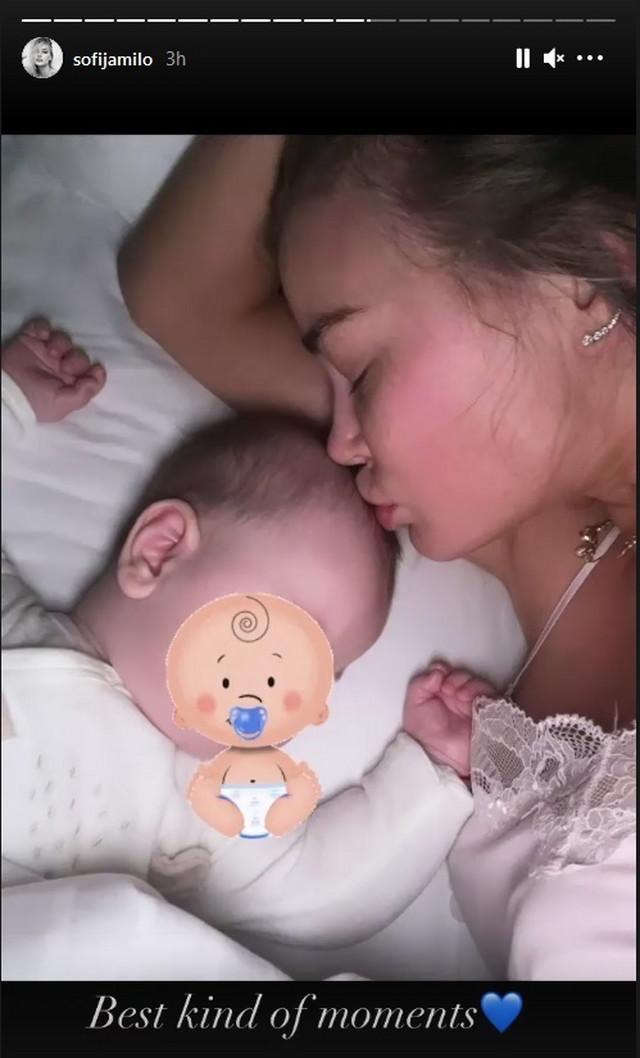 Sofija sa sinom Aleksejom