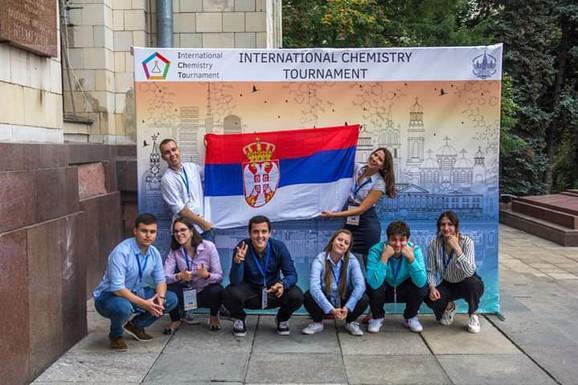 Ponosni: Naš tim na takmičenju u Moskvi