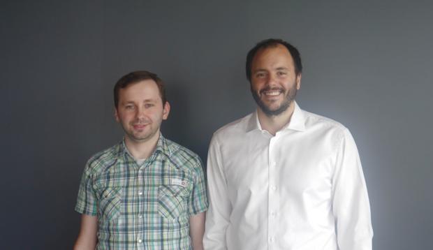 Indoorway - Tomasz Janusz (CTO) i Grzegorz Koblański (CEO)