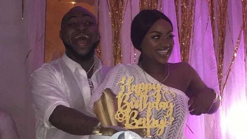 Davido looks a happy man as his friends host him for his birthday.
