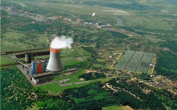 Wizualizacja elektrowni Ostrołęka C