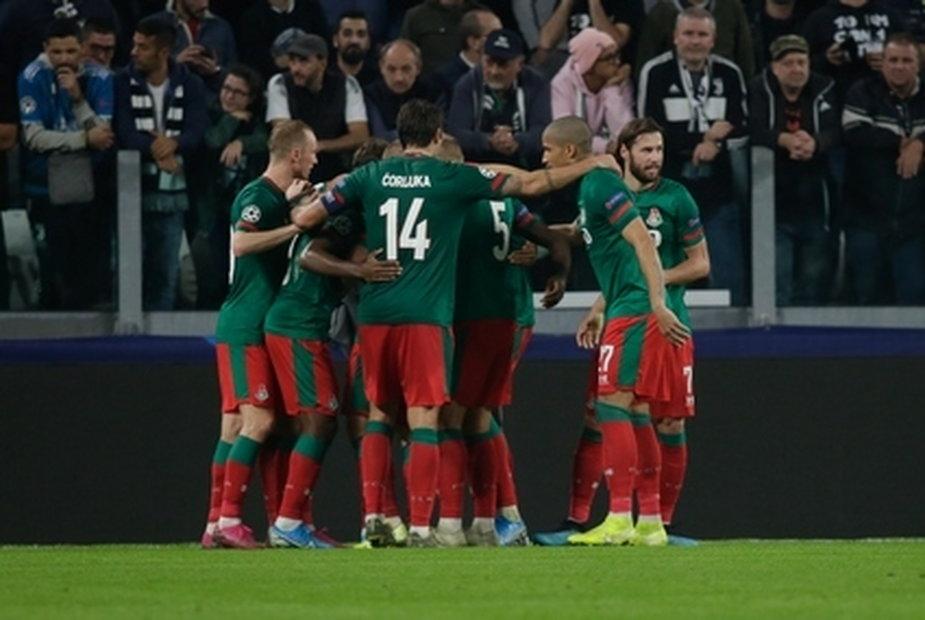 Piłkarze Lokomotiwu Moskwa