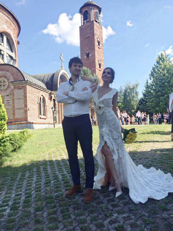 Marija Lazić sa suprugom