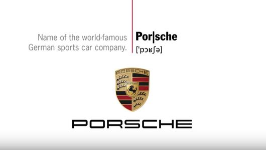 Jak prawidłowo wymawiać nazwę Porsche?