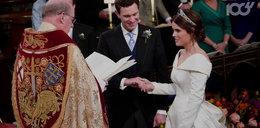 Ślub wnuczki królowej Elżbiety. Podwiało kiecki arystokratek