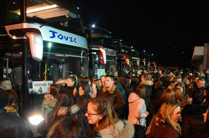 Odlazak studenata na putovanje