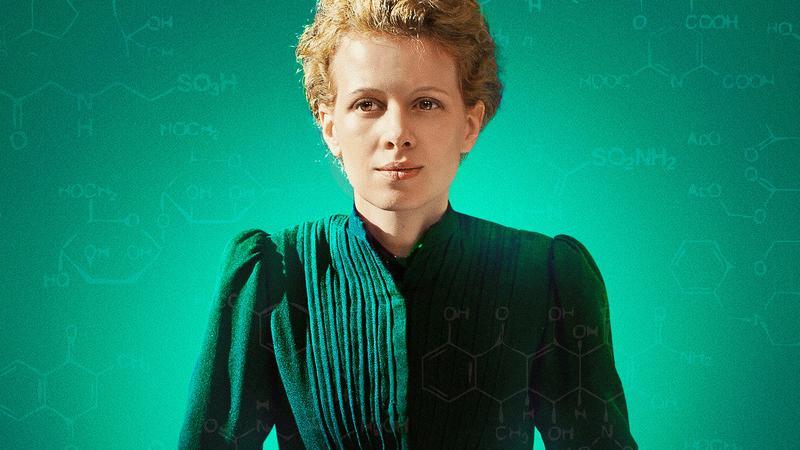 """Maria Skłodowska-Curie"" - plakat"