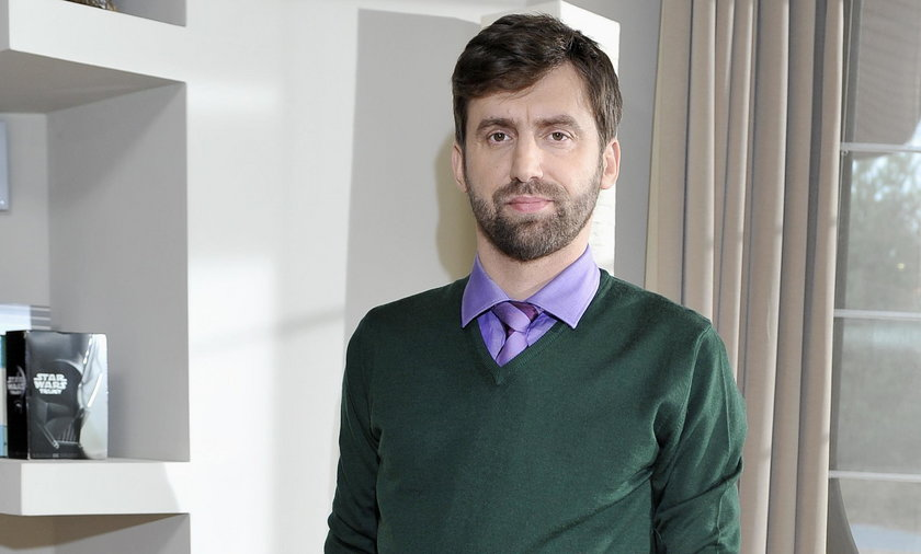 Kamil Dąbrowa, były dyrektor w Polskim Radiu i TOK FM, współprowadzący Szkło Kontaktowe w TVN24