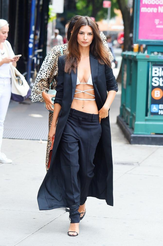 Emili Ratajkovski na Nedelji mode u Njujorku