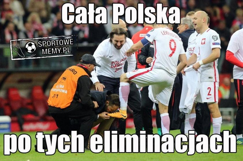 Memy po meczu Polska Czarnogóra