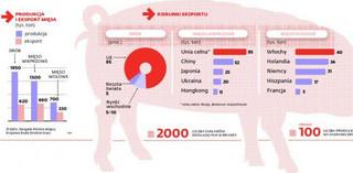 Polskie mięso tylko dla Polaków. Embargo będzie nas kosztowac miliony