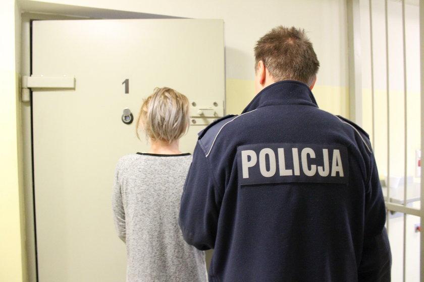 Podejrzana o pozbawienie wolności i torturowanie znajomej w Piotrkowie Trybunalskim