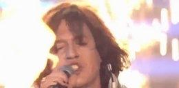 Matti Jakubiec jako szalony wokalista Aerosmith