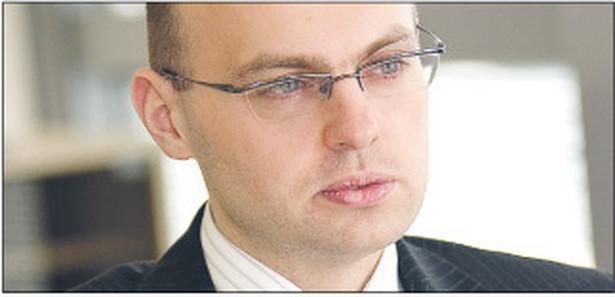 Ernest Frankowski, menedżer w departamencie podatkowym Deloitte