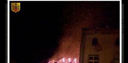 Wielki pożar - 15 osób bez dachu nad głową