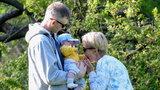 Kasia Zielińska urządziła rodzinny piknik