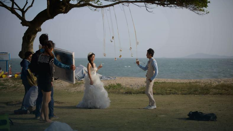 CHINA-LIFESTYLE-WEDDING