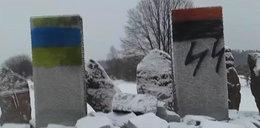 Ukraińscy nacjonaliści zdewastowali pomnik Polaków