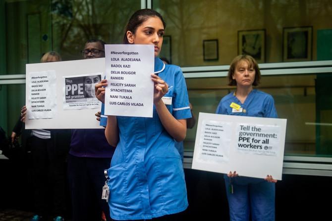 Protest medicinskih sestara