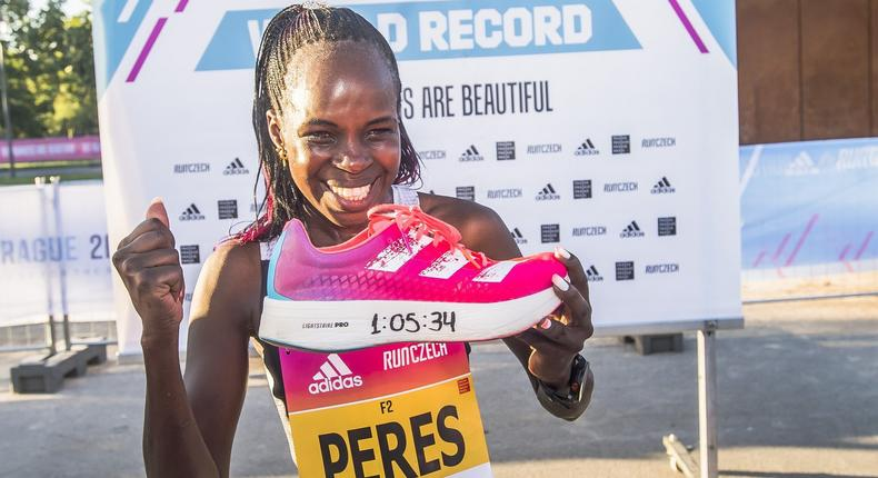 Kenya's Peres Jepchirchir breaks Half Marathon world record