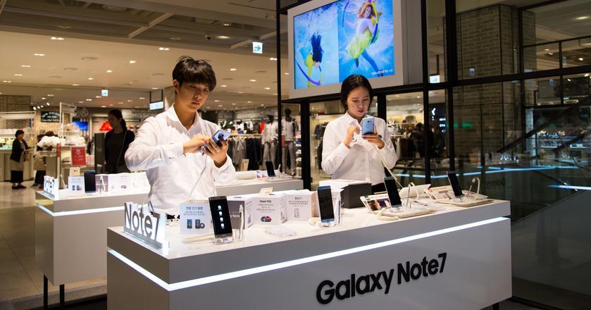Samsung wstrzymuje produkcję i sprzedaż Galaxy Note7. Klienci powinni wyłączyć telefony