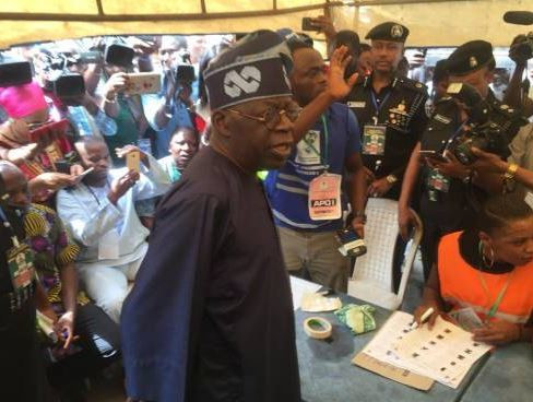 Tinubu was a target for Agbaje during the campaign, as the PDP candidate vowed to end the former governor's influence on Lagos politics. The pharmacist failed at the polls to defeat Sanwo-Olu, Tinubu's choice
