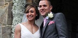 Ślub pięknej brytyjskiej olimpijki