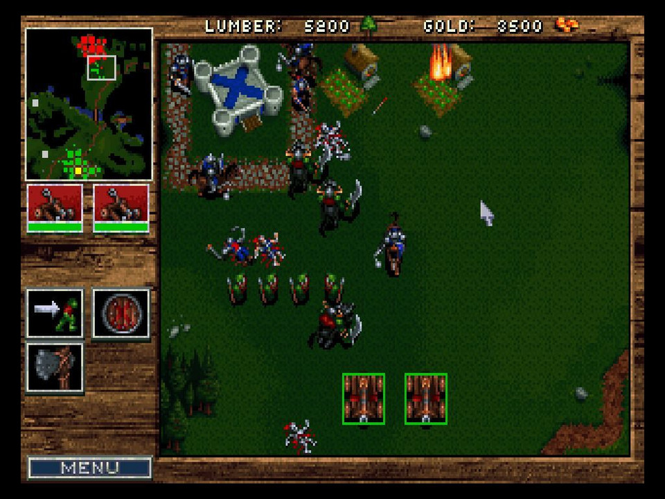 Warcraft: Orcs and Humans - 1994 rok