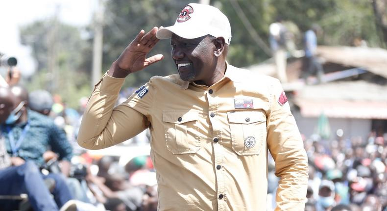 Rowdy youth cause commotion at DP Ruto's rally in Burma market