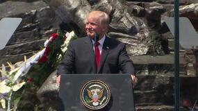 Lech Wałęsa wygwizdany podczas przemowy Donalda Trumpa