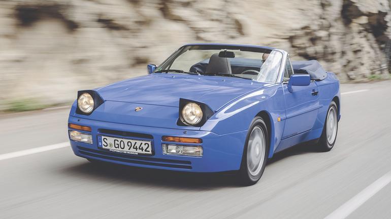 Porsche 944 Turbo Cabrio - wakacje z wiatrem w plecy