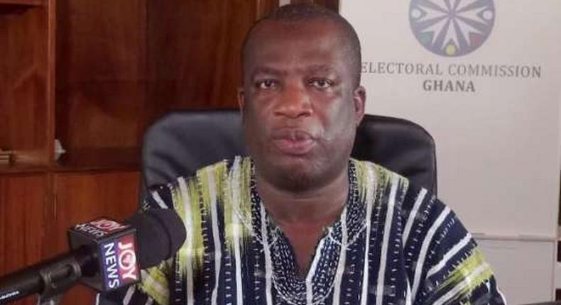 Director of Elections at the EC, Dr Serebour Quaicoe