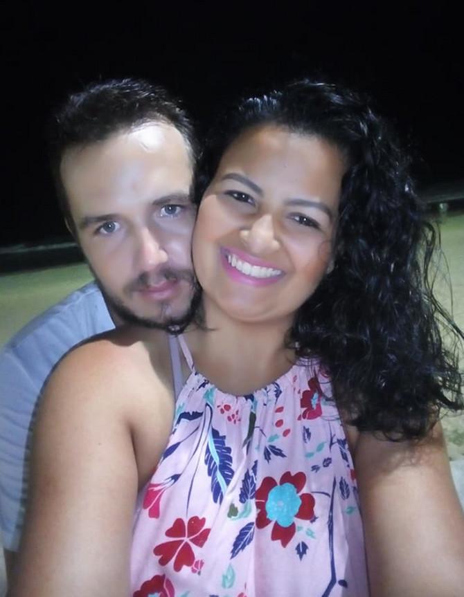 Džesika sa suprugom