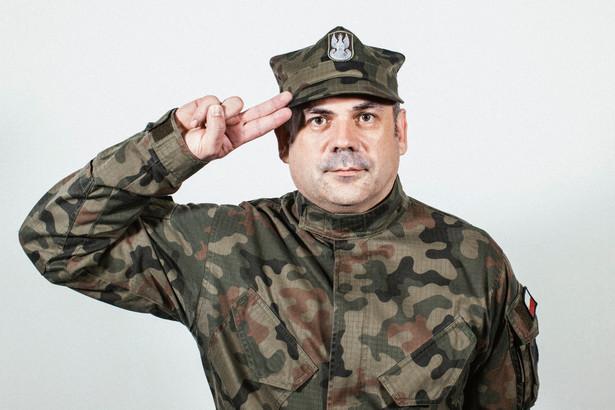 Wiesław Kukuła, dowódca Wojsk Obrony Terytorialnej. Fot. Maksymilian Rigamonti